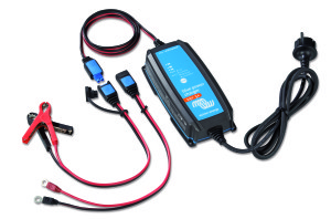 Victron acculader Blue Power IP65 24V 5A Blue Power IP65 Charger 24V 5A + DC connector
